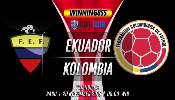 Prediksi Ekuador vs Kolombia 20 November 2019