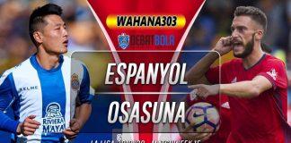 Prediksi Espanyol vs Osasuna 1 Desember 2019