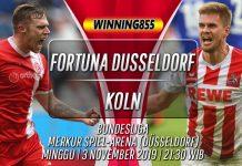 Prediksi Fortuna Dusseldorf vs Koln 3 November 2019