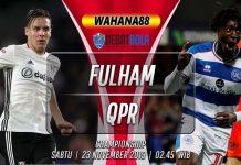 Prediksi Fulham vs QPR 23 November 2019