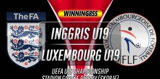 Prediksi Inggris U19 vs Luxembourg U19 13 November 2019