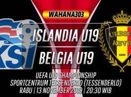 Prediksi Islandia U19 vs Belgia U19 13 November 2019