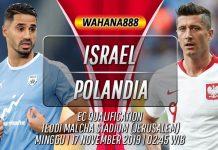 Prediksi Israel vs Polandia 17 November 2019