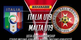 Prediksi Italia U19 vs Malta U19 13 November