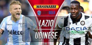 Prediksi Lazio vs Udinese 1 Desember 2019