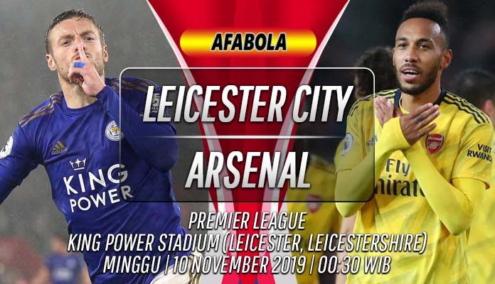 Prediksi Leicester vs Arsenal 10 November 2019