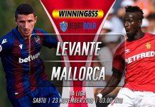 Prediksi Levante vs Mallorca 23 November 2019