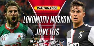 Prediksi Lokomotiv Moscow vs Juventus 7 November 2019