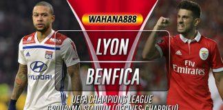 Prediksi Lyon vs Benfica 6 November 2019