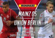 Prediksi Mainz vs Union Berlin 9 November 2019