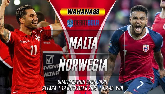Prediksi Malta vs Norwegia 19 November 2019