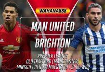 Prediksi Manchester United vs Brighton Hove Albion 10 November 2019