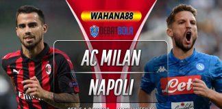 Prediksi Milan vs Napoli 24 November 2019
