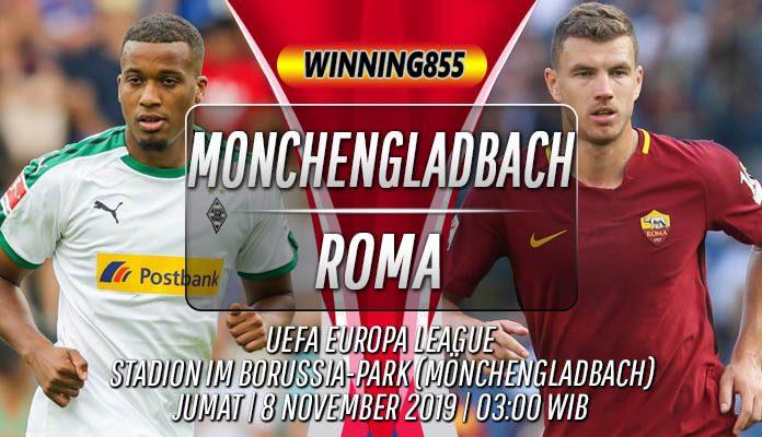 Prediksi Monchengladbach vs Roma 8 November 2019
