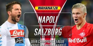 Prediksi Napoli vs Salzburg 6 November 2019