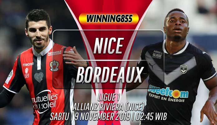 Prediksi Nice vs Bordeaux 9 November 2019
