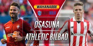 Prediksi Osasuna vs Athletic Bilbao 24 November 2019