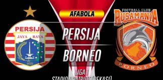 Prediksi Persija vs Borneo 11 November 2019