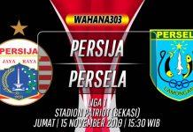 Prediksi Persija vs Persela 15 November 2019