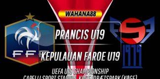 Prediksi Prancis U19 vs Kepulauan Faroe U19 13 November 2019