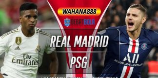 Prediksi Real Madrid vs PSG 27 November 2019