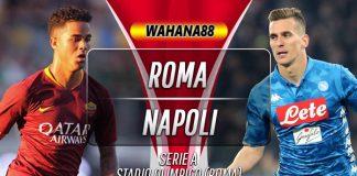 Prediksi Roma vs Napoli 2 November 2019