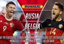 Prediksi Rusia vs Belgia 17 November 2019
