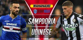 Prediksi Sampdoria vs Udinese 25 November 2019