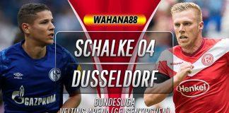 Prediksi Schalke vs Fortuna Dusseldorf 9 November 2019