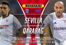 Prediksi Sevilla vs Qarabag 29 November 2019