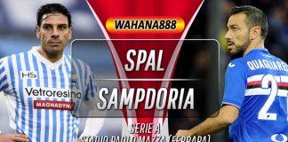 Prediksi SPAL vs Sampdoria 5 November 2019