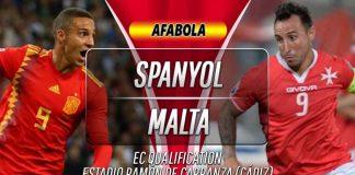 Prediksi Spanyol vs Malta 16 November 2019
