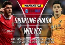 Prediksi Sporting Braga vs Wolves 29 November 2019
