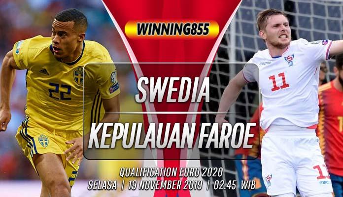 Prediksi Swedia vs Kepulauan Faroe 19 November 2019