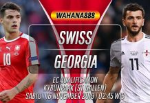 Prediksi Swiss vs Georgia 16 November 2019