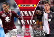 Prediksi Torino vs Juventus 3 November 2019