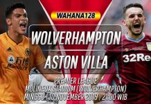 Prediksi Wolves vs Aston Villa 10 November 2019