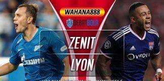 Prediksi Zenit vs Lyon 28 November 2019