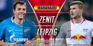 Prediksi Zenit vs RB Leipzig 6 November 2019