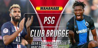 Prediski PSG vs Club Brugge 7 November 2019
