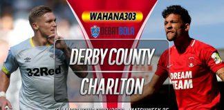 Prediksi Derby County vs Charlton Athletic 31 Desember 2019