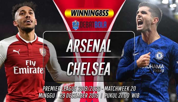 Prediksi Arsenal vs Chelsea 29 Desember 2019