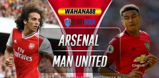 Prediksi Arsenal vs Manchester United 2 Januari 2020