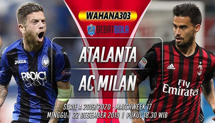 Prediksi Atalanta vs Milan 22 Desember 2019