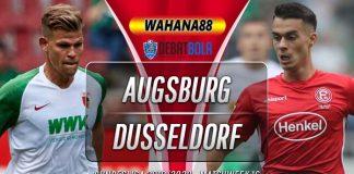 Prediksi Augsburg vs Fortuna Dusseldorf 18 Desember 2019