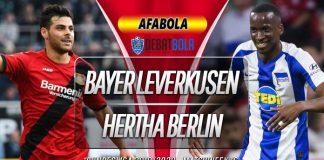 Prediksi Bayer Leverkusen vs Hertha Berlin 19 Desember 2019