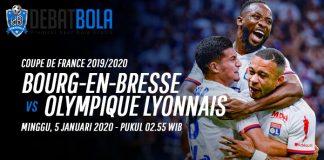 Prediksi Bourg-en-Bresse vs Lyon 5 Januari 2020