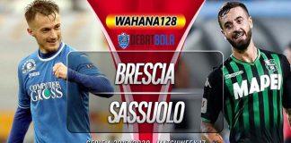 Prediksi Brescia vs Sasuolo 19 Desember 2019