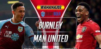 Prediksi Burnley vs Manchester United 29 Desember 2019