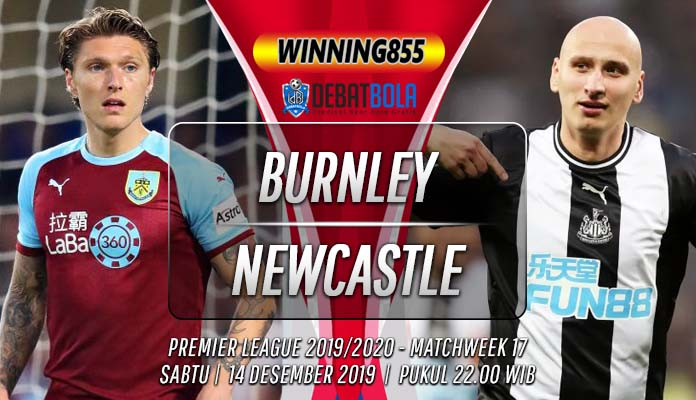 Prediksi Burnley vs Newcastle United 14 Desember 2019